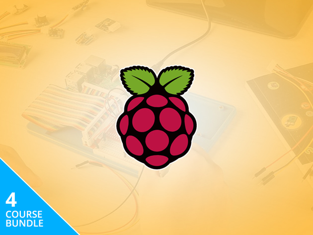 The Ultimate Raspberry Pi Starter Set Includes a Pi 3B+ Board + 10 Hours of Beginner-Friendly Instruction