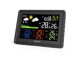 BALDR Wireless Indoor/Outdoor Weather Station with Temperature Monitor