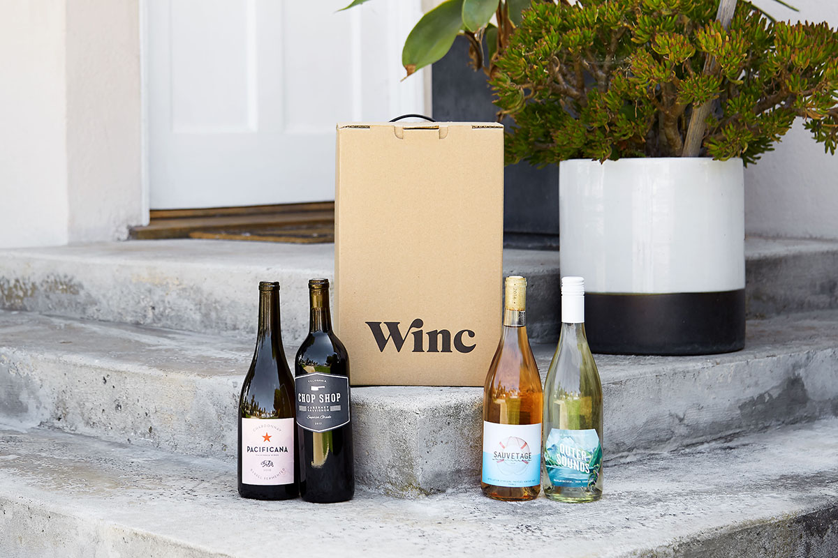 Winc Wine Delivery: $155 of Credit for 12 Bottles, on sale for $93.99 (39% off)