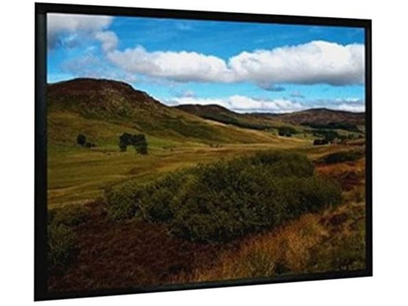 "Mustang SC-F84W4:3 Easily Fixed Frame Projection Screen 54""x70"" 84"" Diagonal (New)"