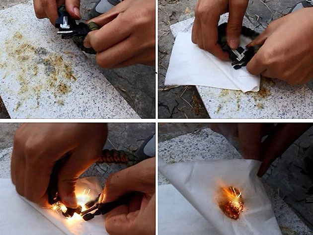 Check out this 5-in-1 fire starter in action