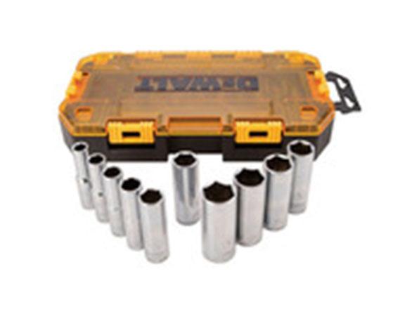 "DEWALT DWMT73814 1/2"" Drive Deep Socket Set - Product Image"