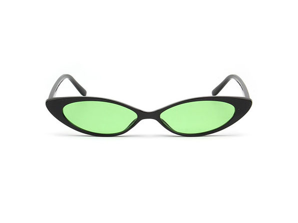 Rose Cat Eye Sunglasses (Green)