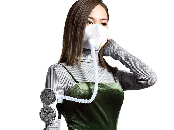 FitAir Mask + Personal Air Purifier Kit