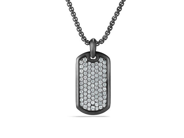 Stainless Steel Dog Tag Pendant Necklace