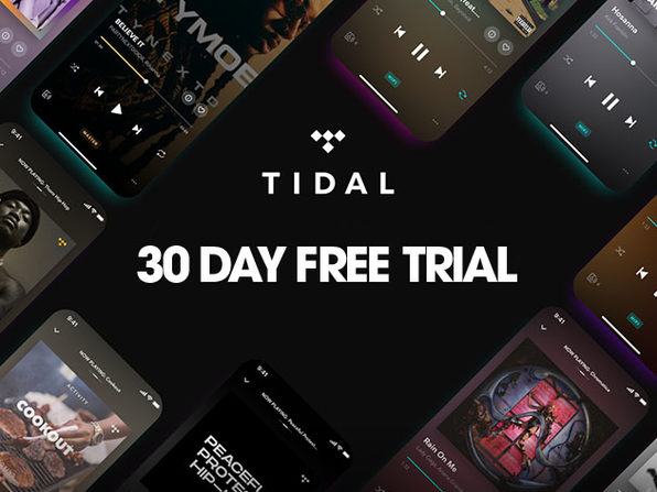 TIDAL - 30 Day Free Trial - Product Image