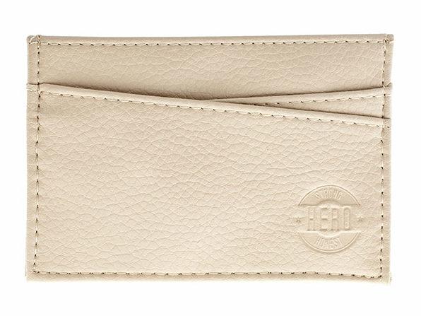 Hero Goods: Adams Wallet (Cream)