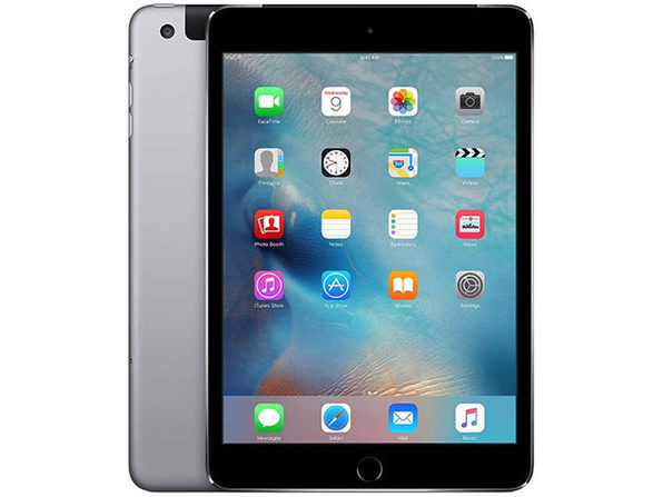 "Apple Mini 4 7.9"" 64GB - Space Gray (Certified Refurbished: Wi-Fi + 4G)"