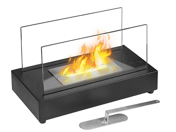 Smokeless Bio-Ethanol Tabletop Fireplace