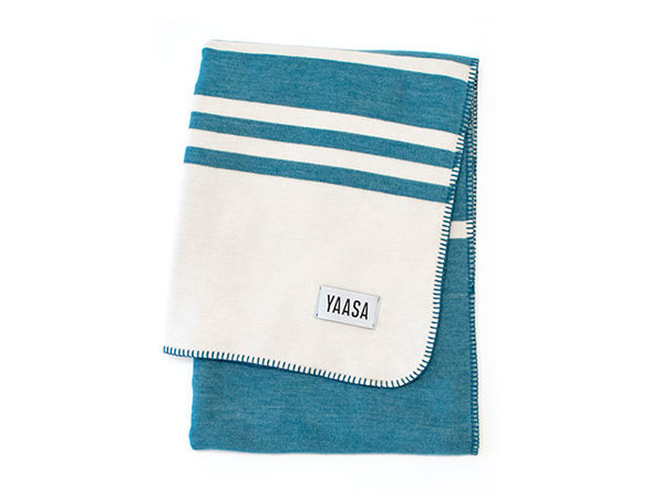 Yaasa Elements Travel Blanket (Blue)