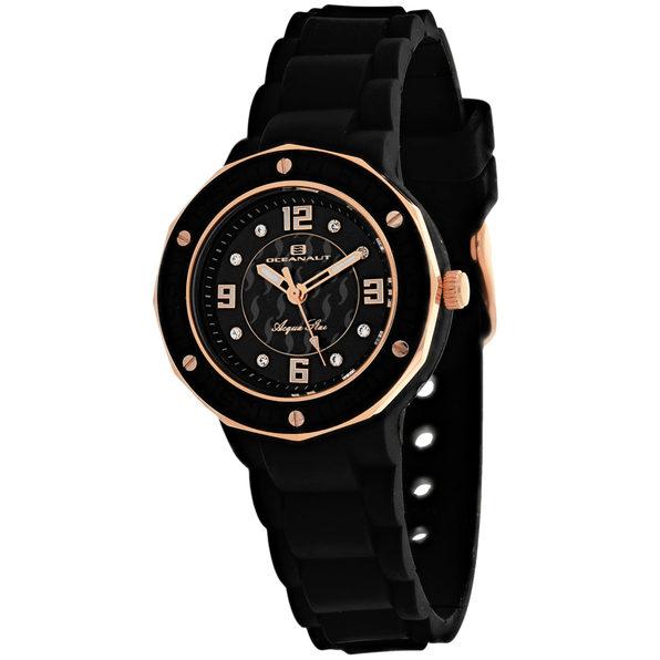 Oceanaut Women's Acqua Star Black Dial Watch - OC0432 - Product Image