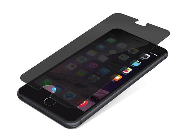 Zagg InvisibleShield Glass and Privacy Screen Protector for iPhone 6/6S/7/8 with Side-View Privacy (New Open Box)