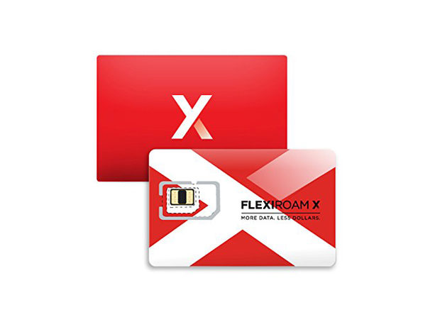 Flexiroam Data Roaming Microchip: 2 GB Starter Pack
