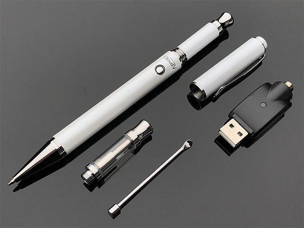 Cloud Vape Pen 2-in-1 Vaporizer (White)
