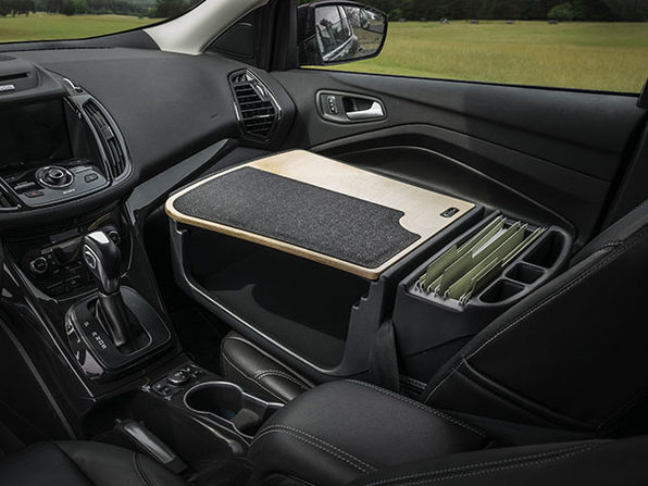 Efficiency GripMaster Car Desk & Organizer (Elite)