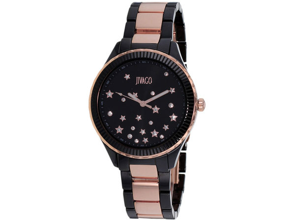 Jivago Women's Sky Black Dial Watch - JV2415