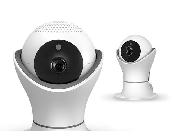 iPM World 360-Degree 1080p Wireless IP Security Camera