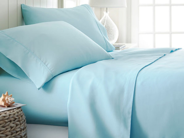 4 piece Sheet Sets- Aqua - Product Image