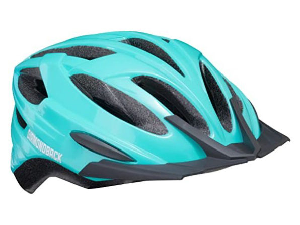 Diamondback 88-32-309 Recoil Mountain Bike Helmet Fits Heads, Large - Light Blue (New, Damaged Retail Box)