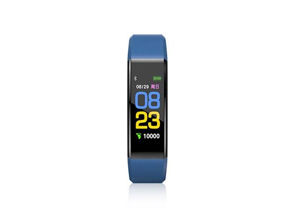 Fitness Tracker Watch V21 (Blue)