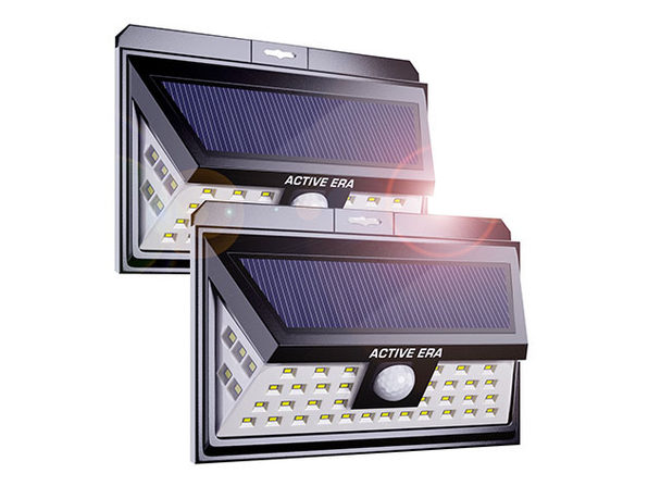 Outdoor Security Wall Lights with 44 LEDs & Motion Sensor