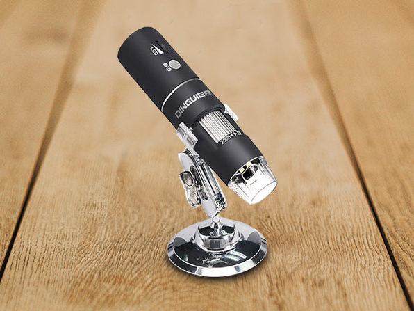 HD Wireless Digital Microscope with 1000x Zoom