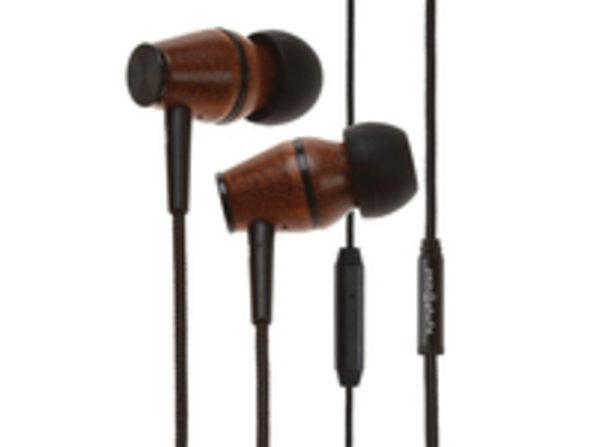 XTC In-Ear Genuine Wood Headphones (International)
