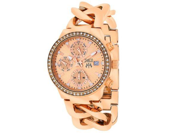 Jivago Women's Levley Rose gold Dial Watch - JV1247