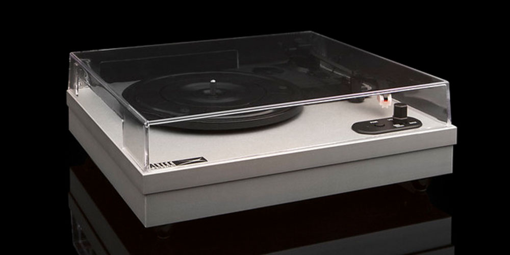Get the Altec Lansing ALT-500 Turntable for $59.96 with promo code GREEN20