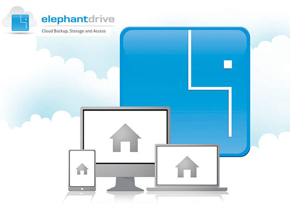 ElephantDrive 1000GB Plan: 2-Yr Subscription