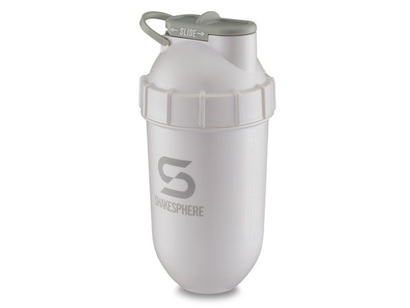 ShakeSphere 700ml Tumbler Original (2-Pack, Pearl White/Grey Logo)