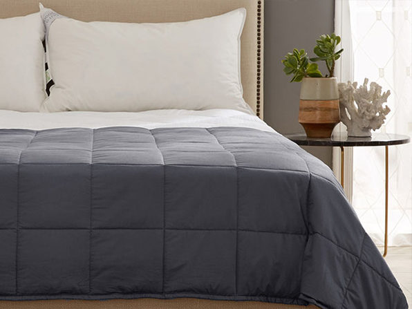 Kathy Ireland Weighted Blanket (Charcoal)