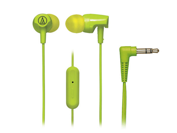SonicFuel In-Ear Headphones with In-Line Microphone & Control - 2pack - Green - Product Image