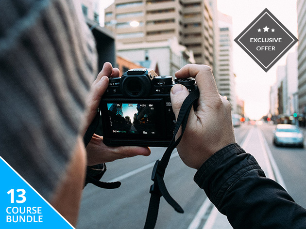 13 Courses (65+ Hours) Filled w/ Top-Quality Photography & Image Editing Training by the Pros