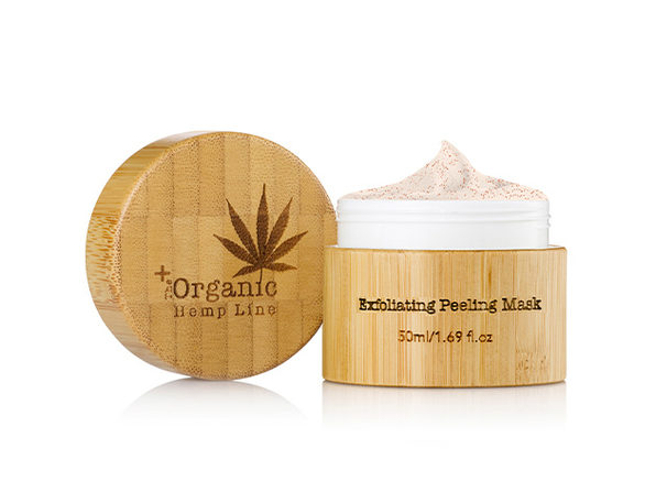 The Organic Hemp Exfoliating Mask Set