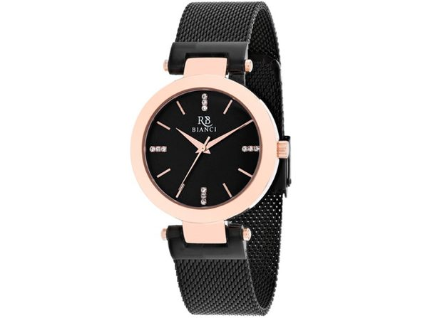 Roberto Bianci Women's Cristallo Black Dial Watch - RB0405 - Product Image