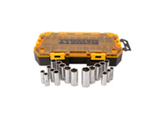 "DEWALT DWMT73812 3/8"" Drive Deep Socket Set"