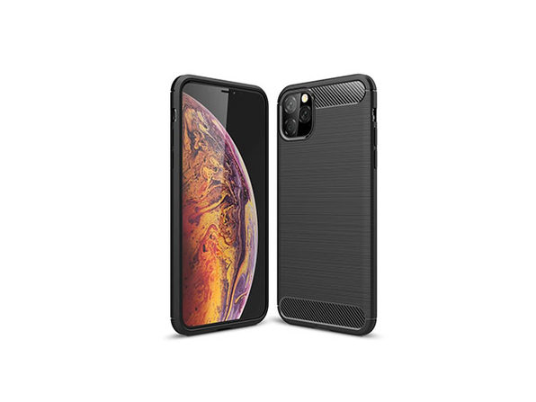 iPM iPhone 11 Carbon Fiber Protective Case - Black - Product Image