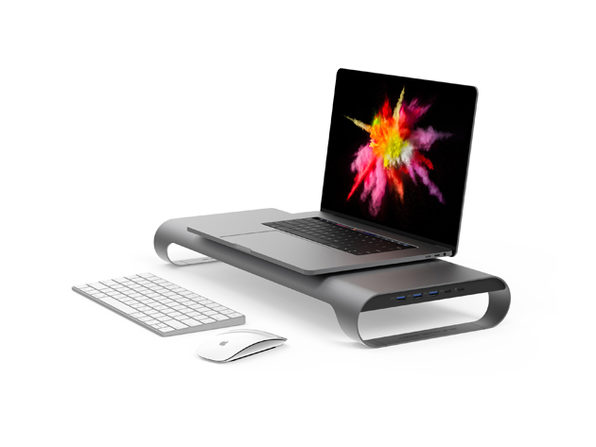 ProBASE HD USB-C Laptop & Monitor Stand (Space Grey)