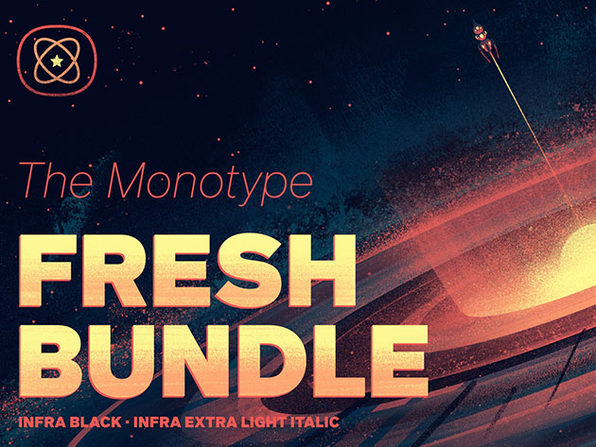 MyFonts Monotype Fresh Font Bundle