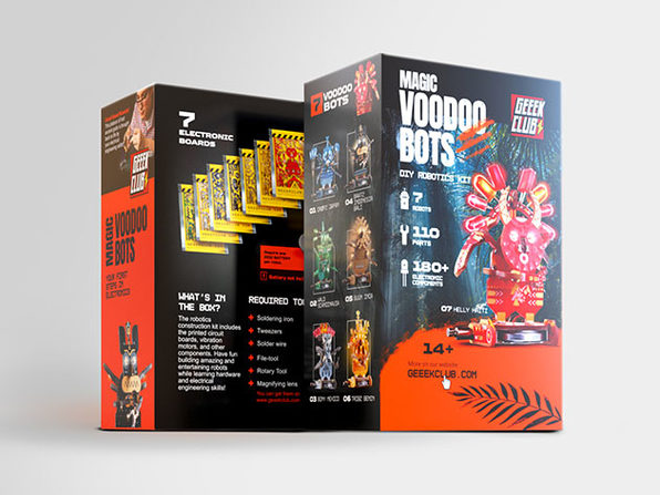 Magic Voodoo Bots PCB Construction Set (Toolkit Not Included)