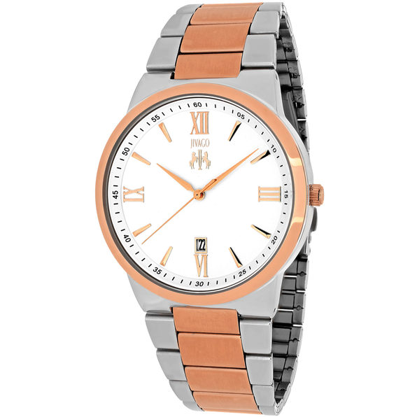 Jivago Men's Clarity Silver Dial Watch - JV3514