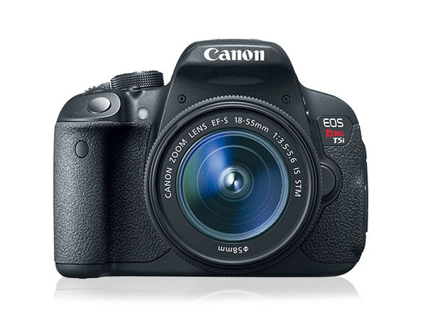 Canon EOS Rebel T5i DSLR Camera + 18-55mm IS Lens