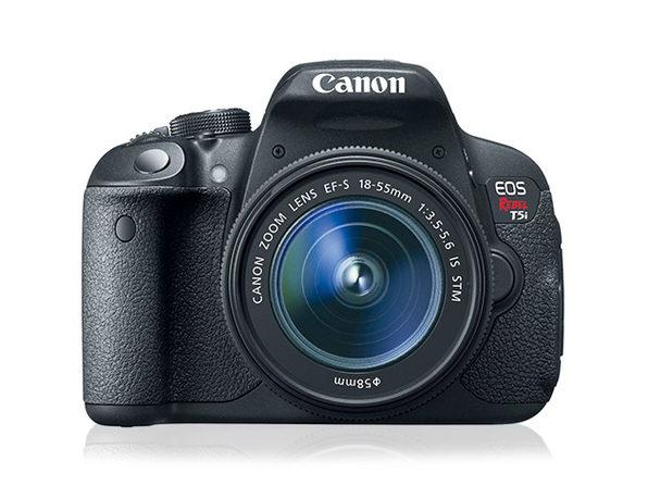 Canon EOS Rebel T5i DSLR Camera + 18-55mm IS Lens