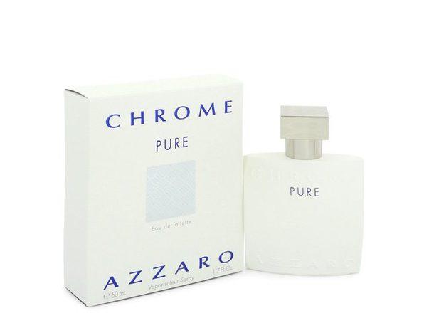 Chrome Pure by Azzaro Eau De Toilette Spray 1.7 oz - Product Image