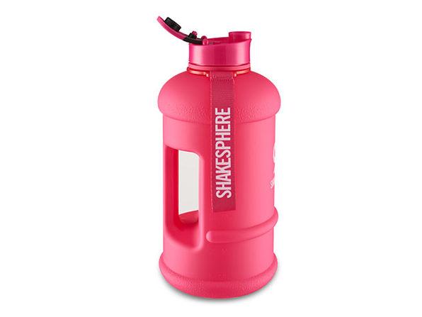 ShakeSphere 1.3L Hydration Jug (2-Pack, Matte Pink/White Logo)