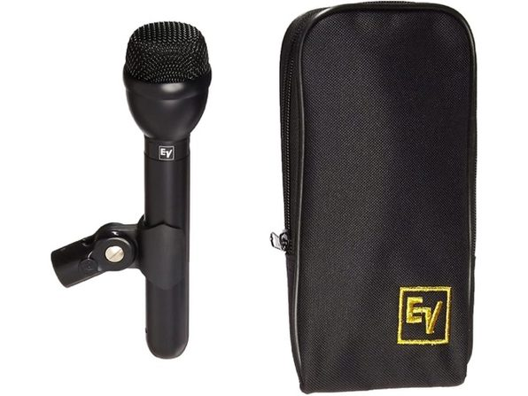 Electro-Voice RE50/B Handling-Noise Omnidirectional Microphone Dynamic - Black (Like New, Damaged Retail Box)