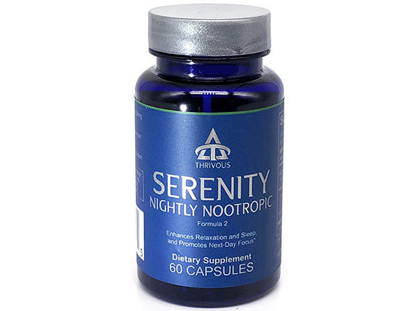 Serenity Nightly Nootropic