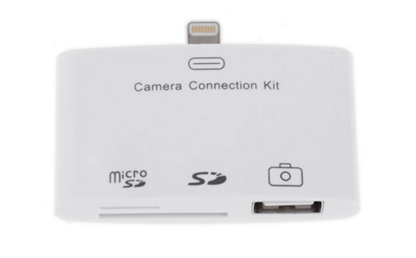 3-in-1 Camera Connection Kit For iPad | StackSocial