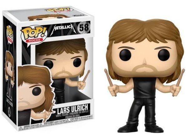 Funko Pop! Rocks: Metallica - Lars Ulrich Collectible Figure